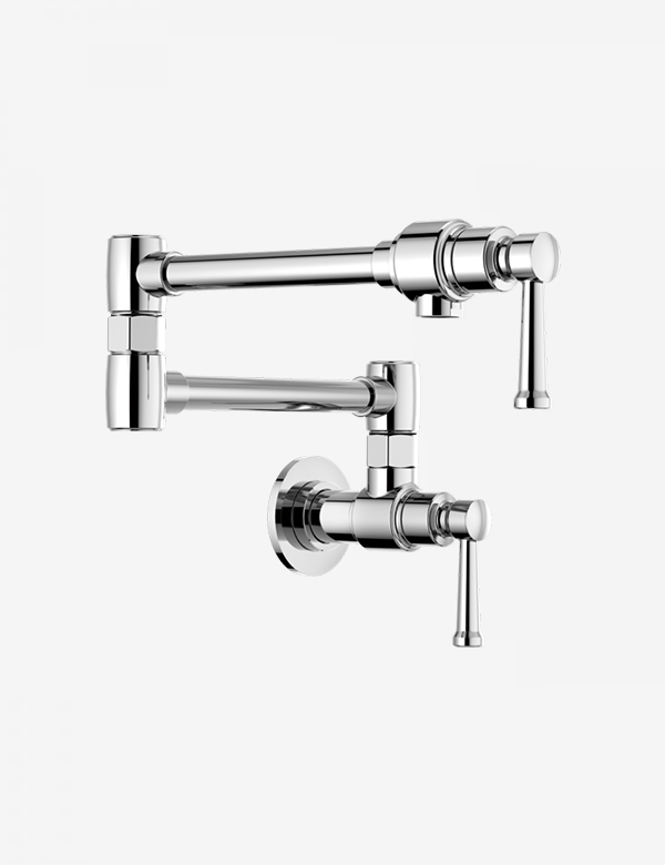 brizo artesso wall mount pot filler 62825lf
