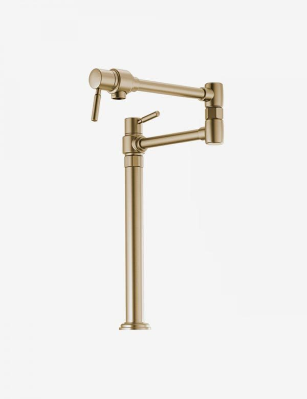 Brizo Euro Deck Mount Pot Filler Faucet 62720lf Euro Bath Kitchen